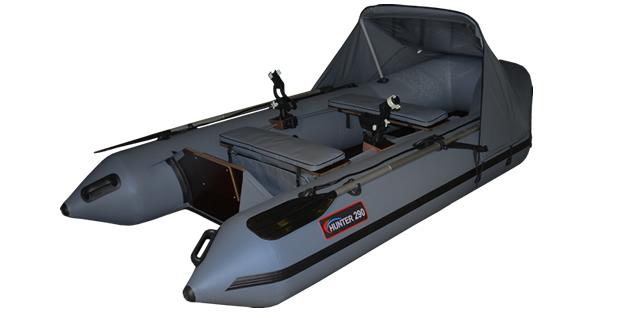 какой мотор на лодку хантер 290