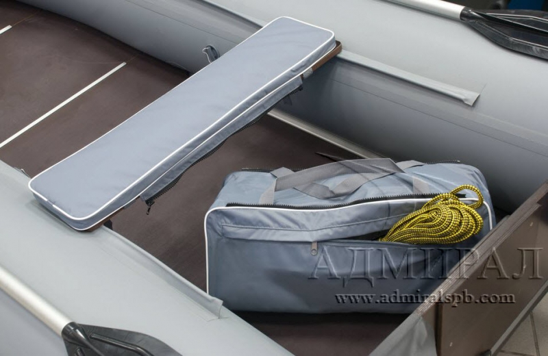 накладка на банку с сумкой для лодок своими руками