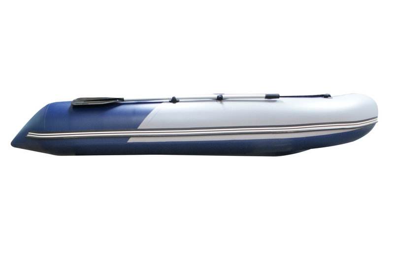 лодки с надувным пайлом