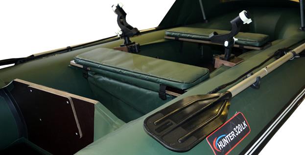хантер 320лк слань+киль лодка пвх отзывы