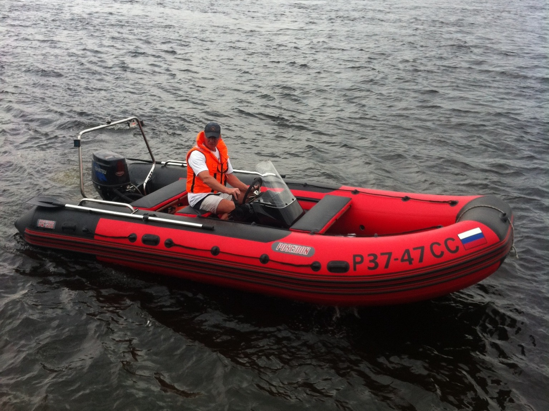 лодки посейдон от производителя в спб